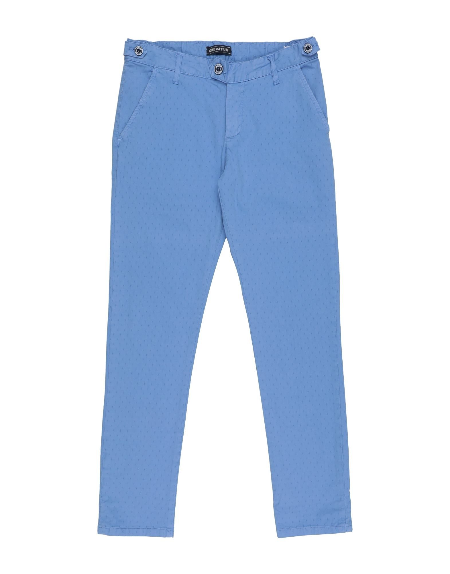 Great Fun Kids' Casual Pants In Blue