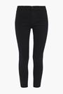 J BRAND Cropped mid-rise skinny jeans