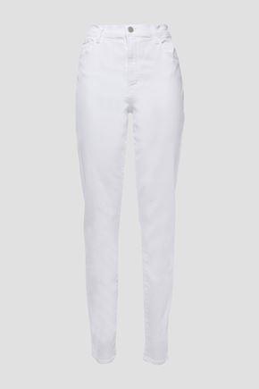J BRAND جينز بأرجل ضيقة مرتفع الخصر