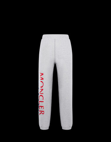 CASUAL TROUSER Light grey 2 Moncler 1952 Man