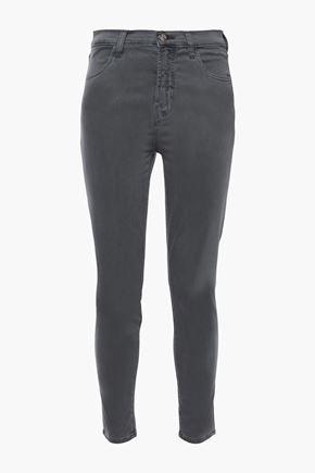 J BRAND Alana cropped cotton-blend skinny pants
