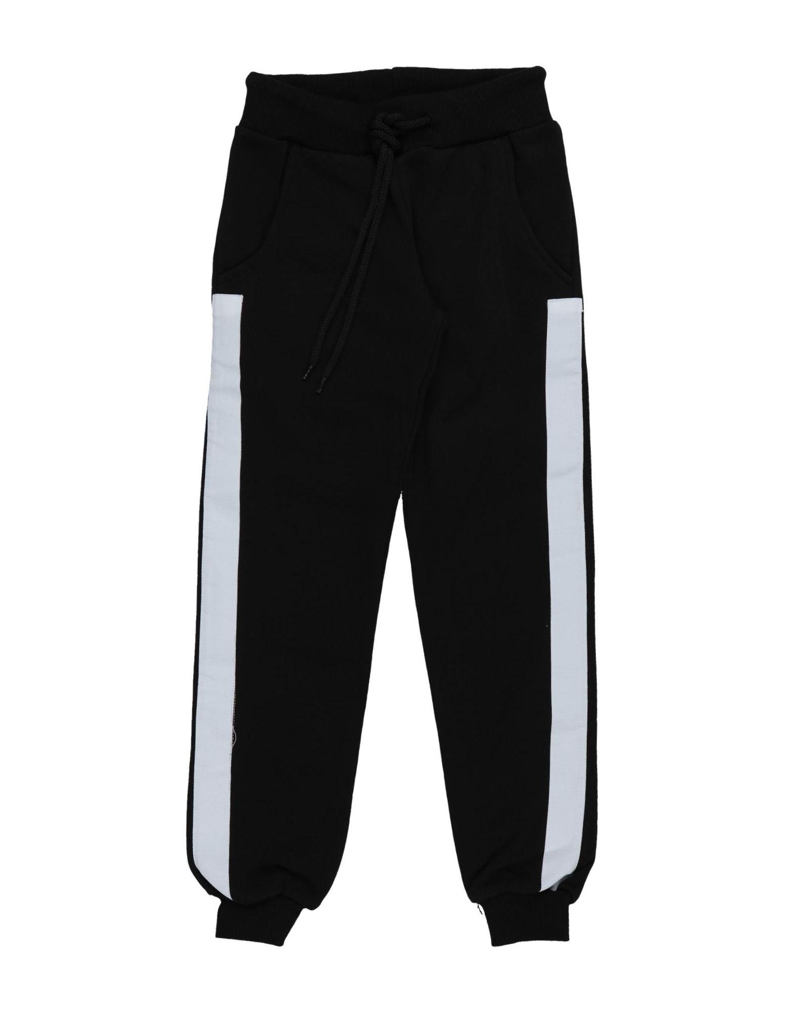 Joe Barret Firenze Kids' Casual Pants In Black