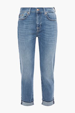 7 FOR ALL MANKIND Ellis mid-rise slim-leg jeans