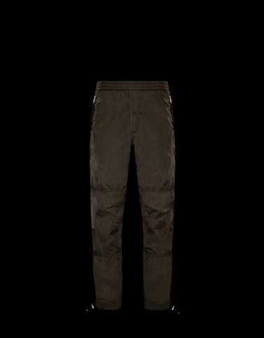 ATHLETIC TROUSERS Dark green Trousers Man