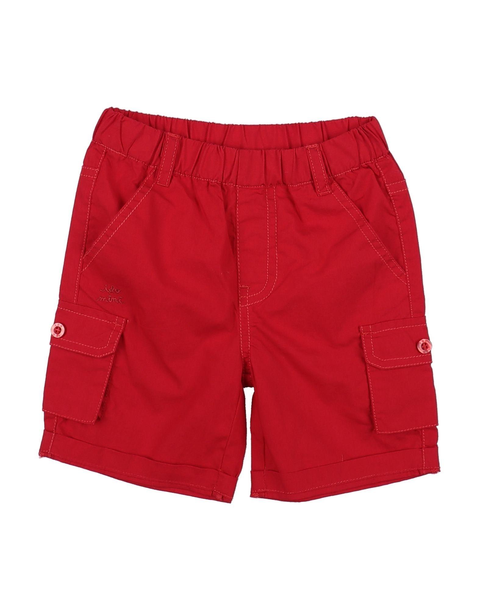 Ido By Miniconf Kids' Bermudas In Red