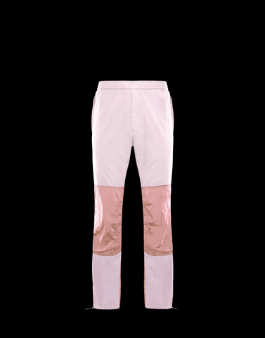 ATHLETIC TROUSERS Pink Trousers Man