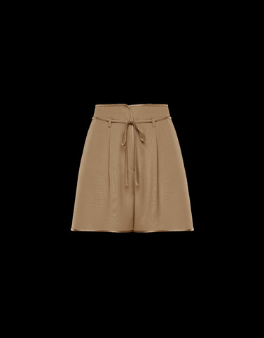 SHORTS Beige Skirts and Trousers Woman