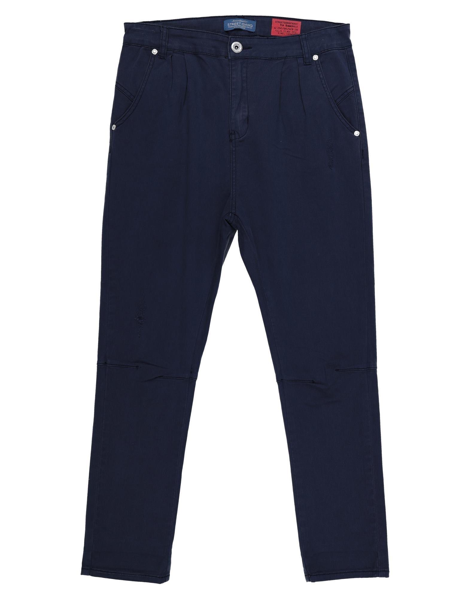 Street Gang Kids' Casual Pants In Blue