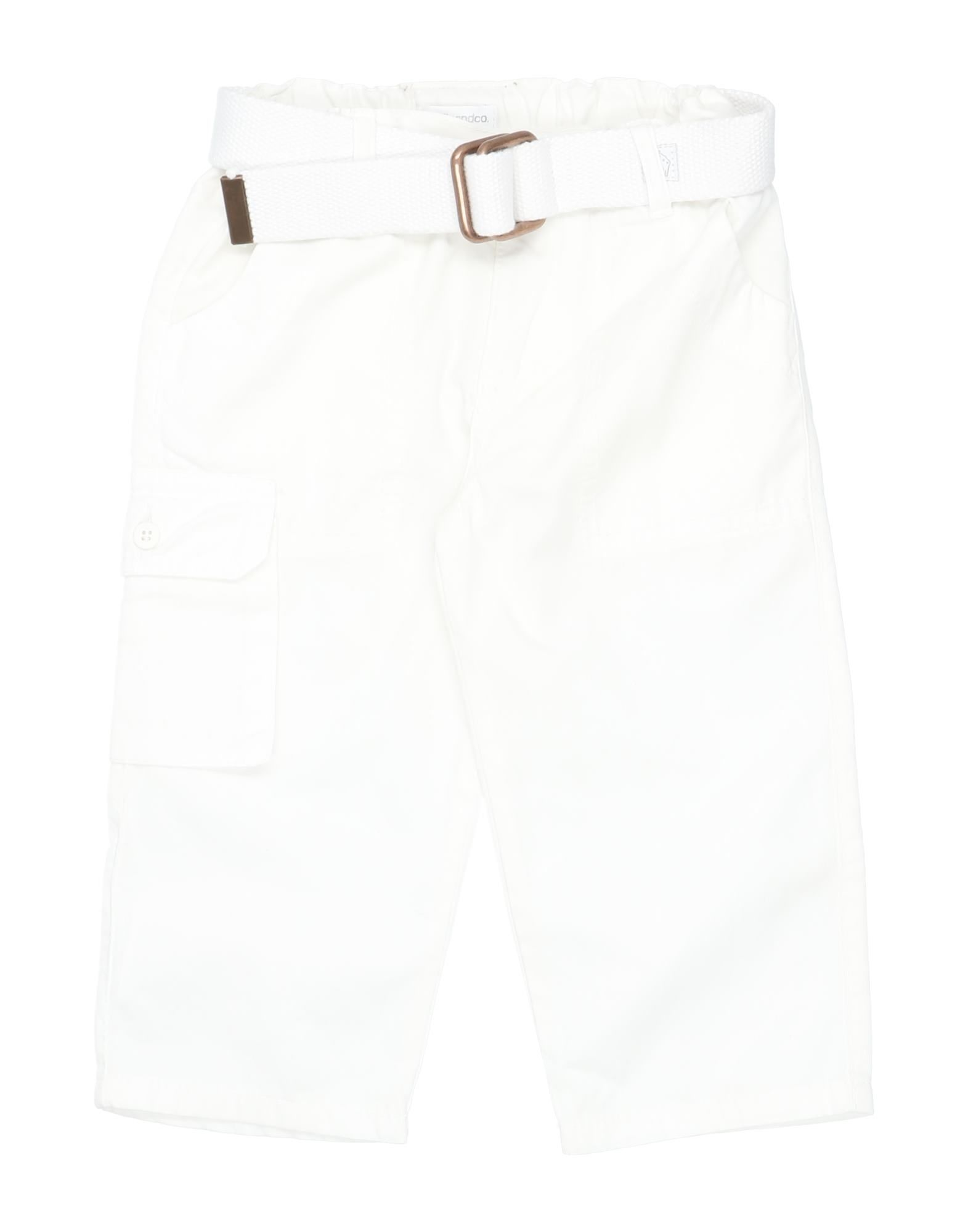 Muffin & Co. Kids' Casual Pants In White