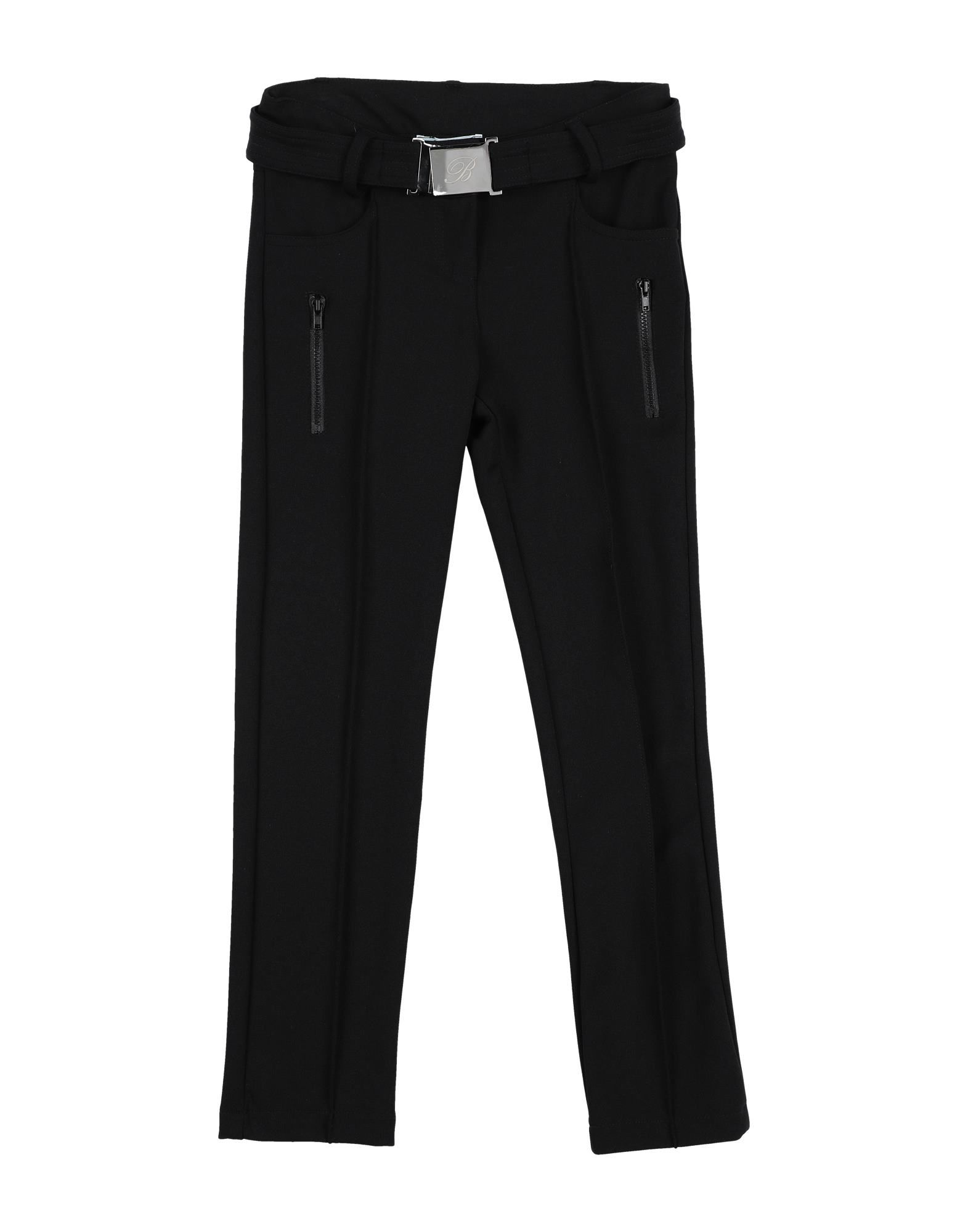 Miss Blumarine Kids' Casual Pants In Black