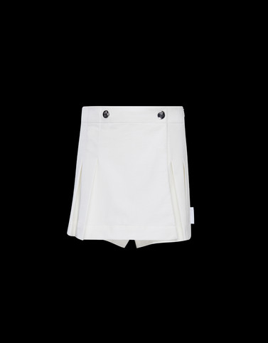 SHORTS White Junior 8-10 Years - Girl Woman