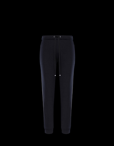JERSEY TROUSERS Black Category Casual trousers Woman