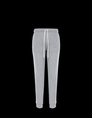 JERSEY TROUSERS Grey Category Casual trousers Woman