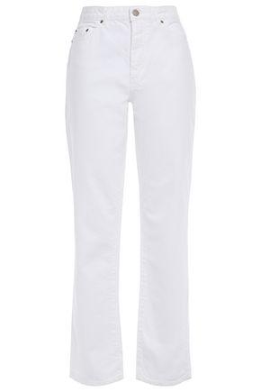 AMERICAN VINTAGE High-rise straight-leg jeans