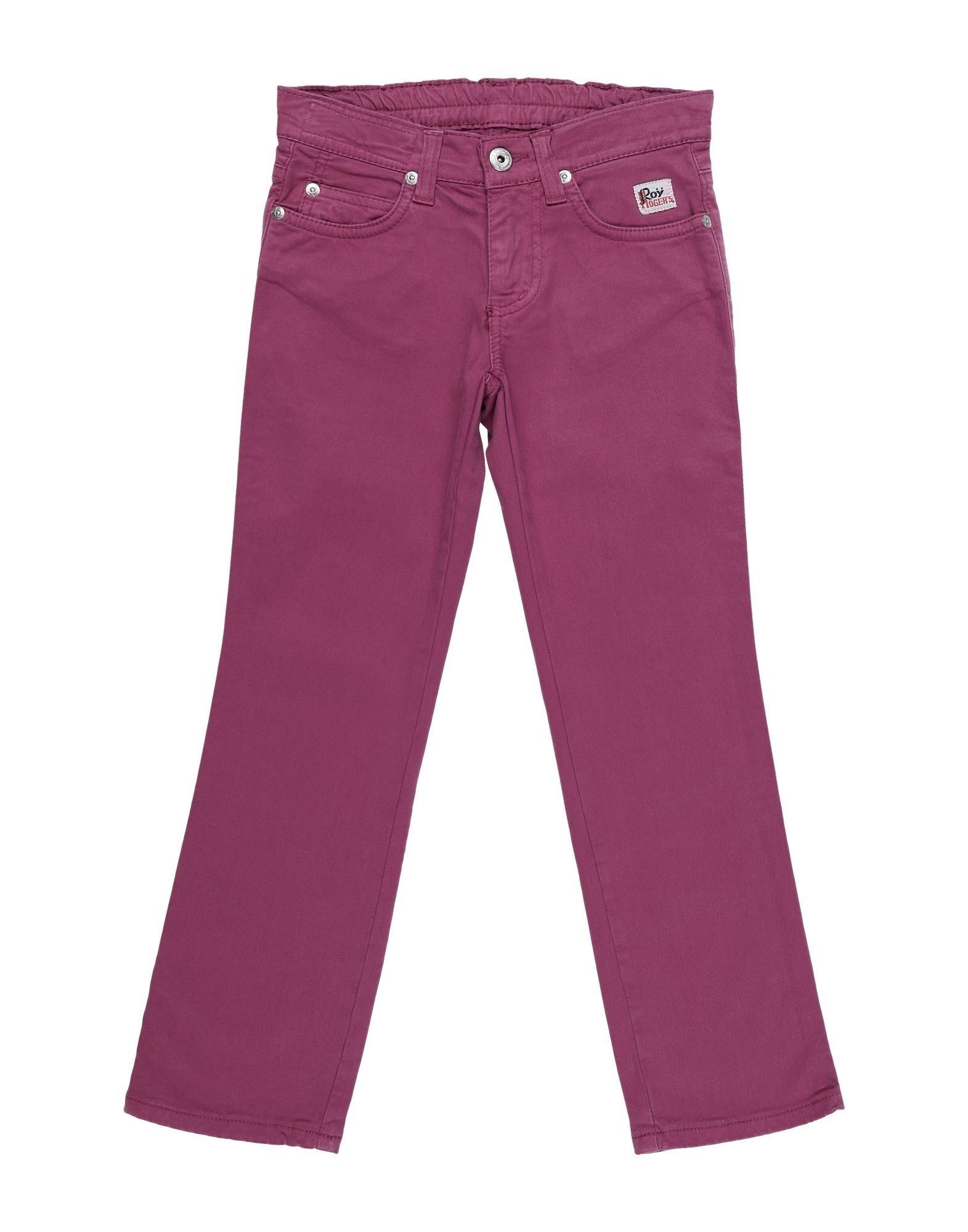 Roy Rogers Kids' Casual Pants In Purple