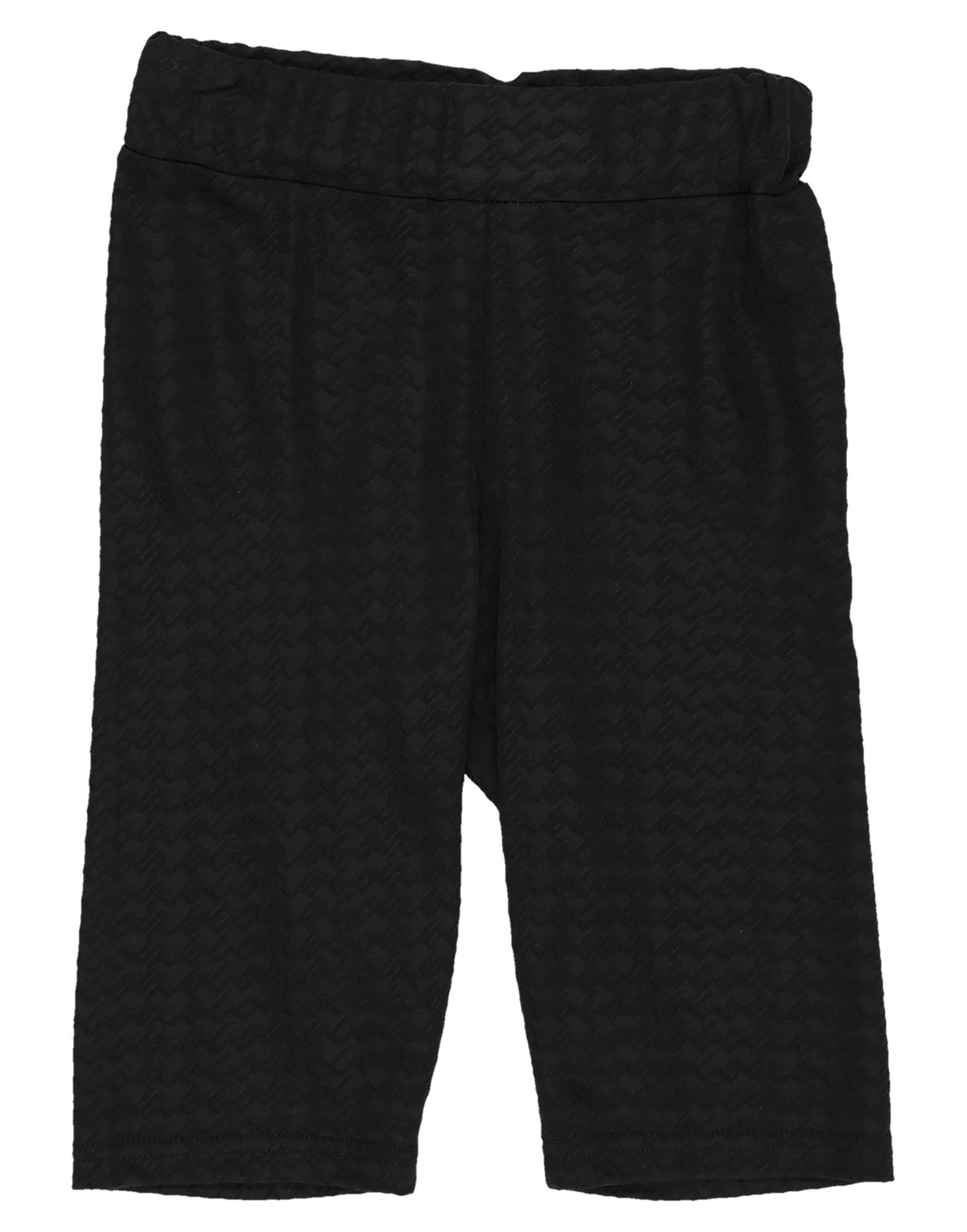 GCDS Bermudas. jersey, no appliqués, solid color, high waisted, comfort fit, elasticized waist, no pockets, stretch. 68% Viscose, 27% Polyamide, 5% Elastane