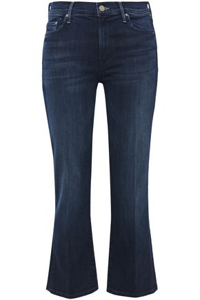 MOTHER The Outsider high-rise kick-flare jeans