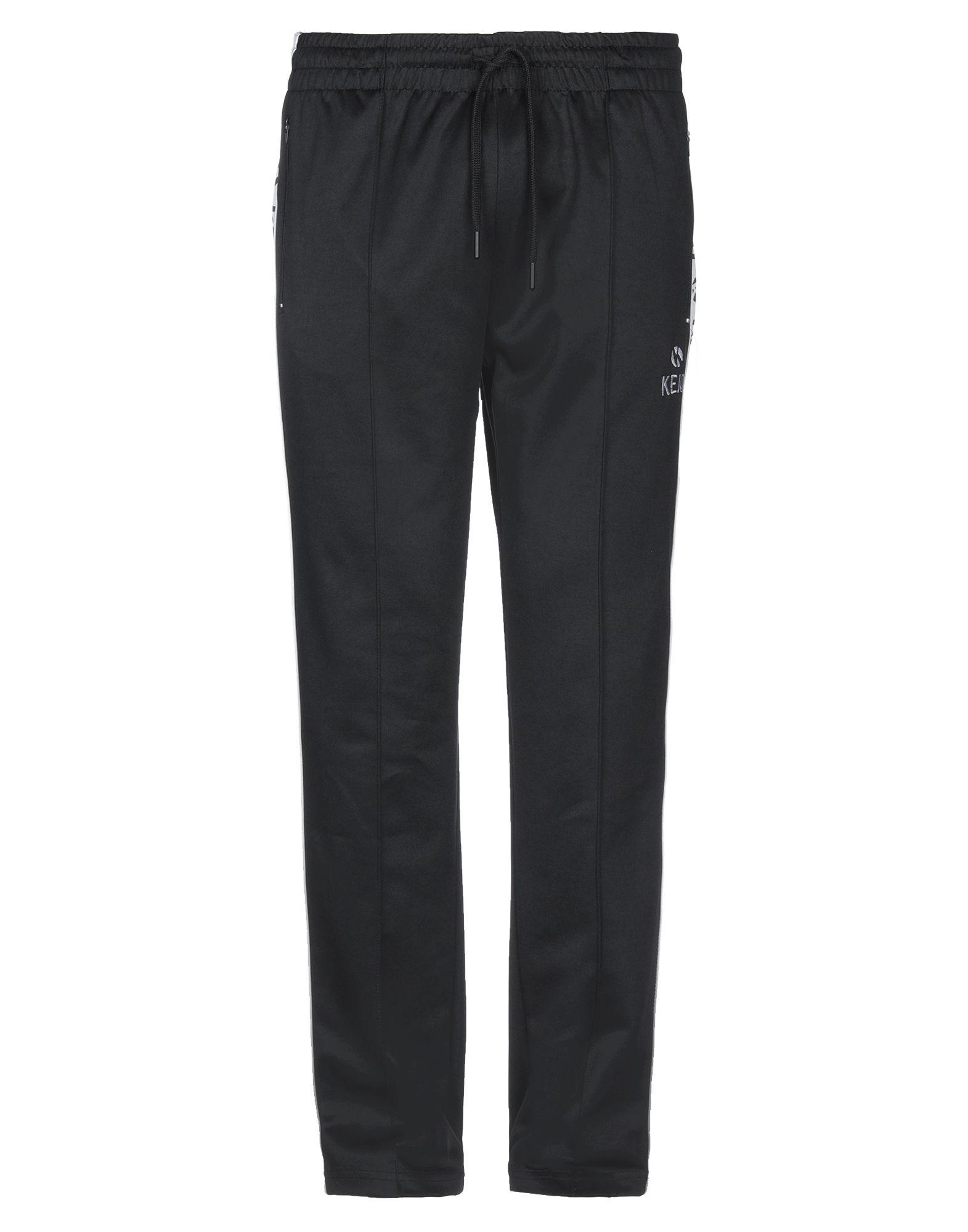 《セール開催中》KEJO メンズ パンツ ブラック XL ポリエステル 70% / コットン 25% / ポリウレタン 5%
