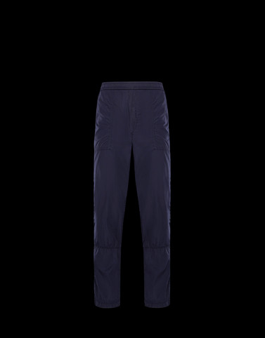 ATHLETIC TROUSERS Dark blue Category Casual trousers Man