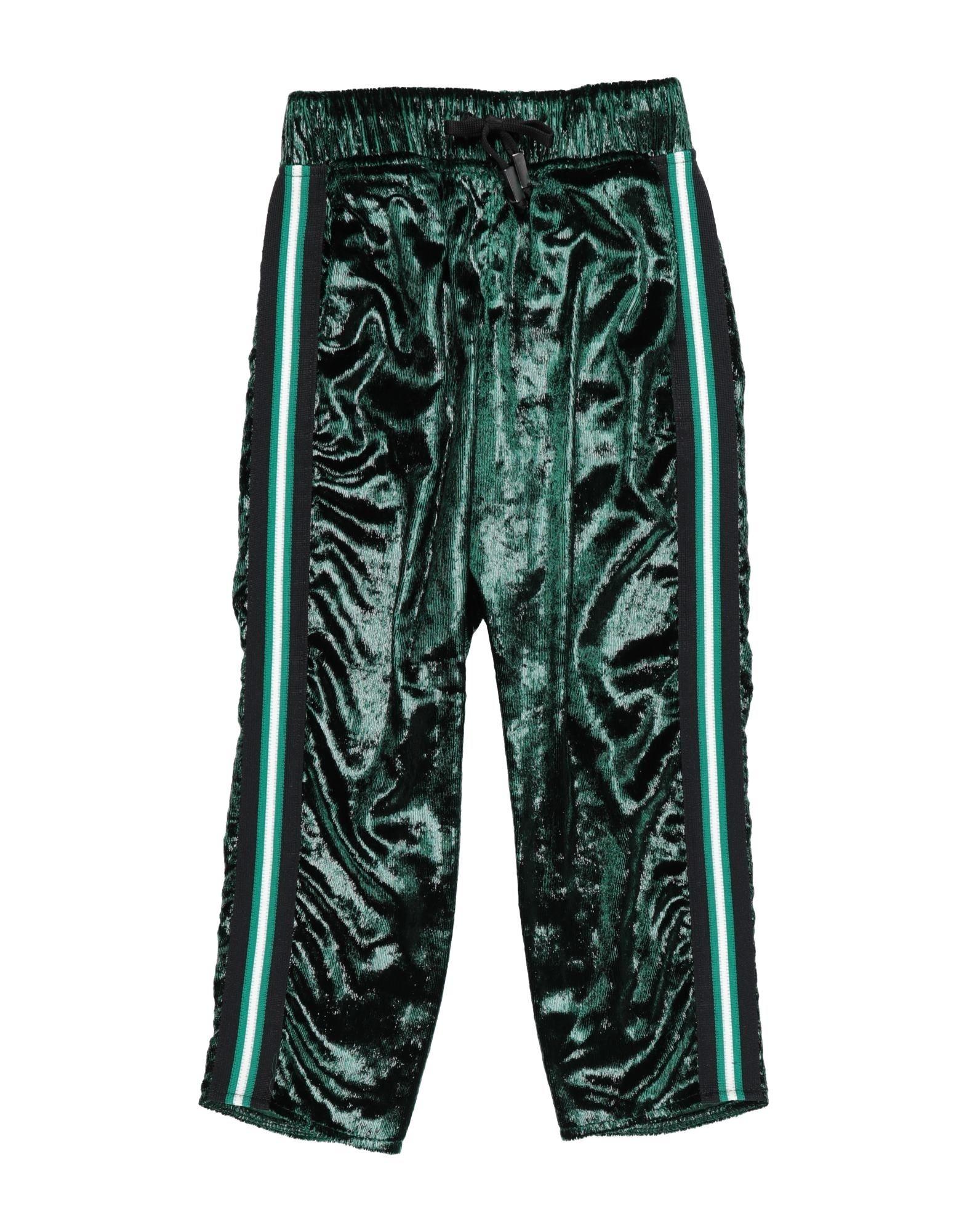 Jijil Jolie Kids' Casual Pants In Green