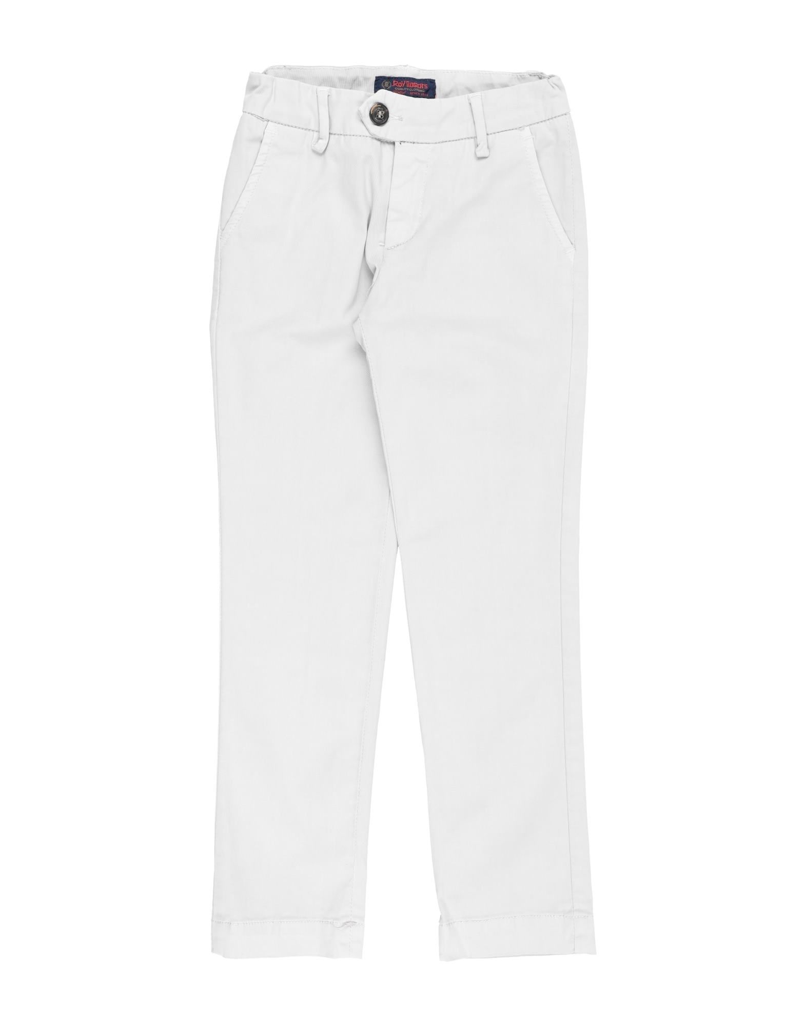 Roy Rogers Kids' Casual Pants In White