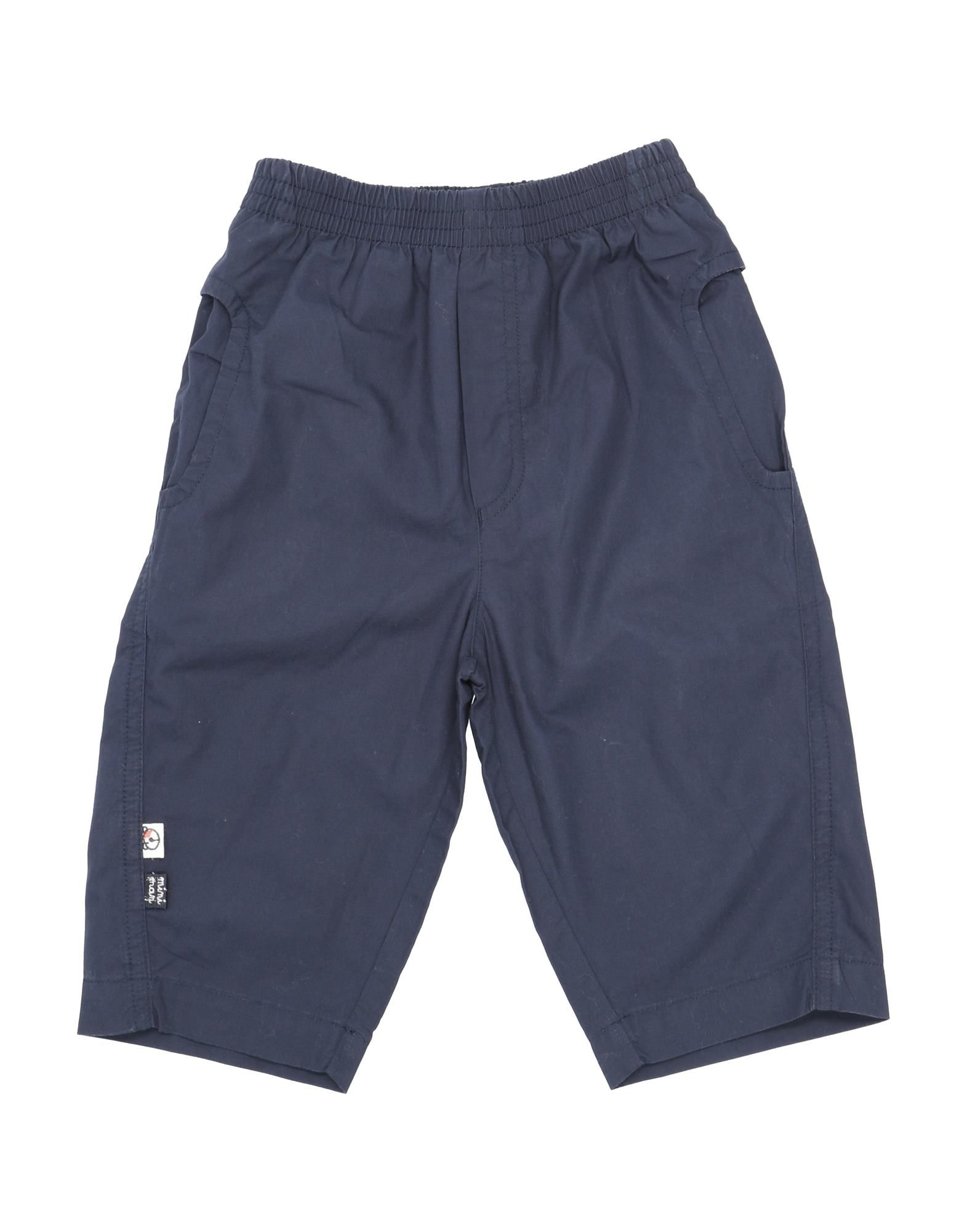Miniman Kids' Casual Pants In Blue
