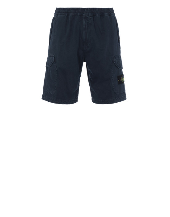 STONE ISLAND L0804 T.CO+OLD  Bermuda shorts Man Blue