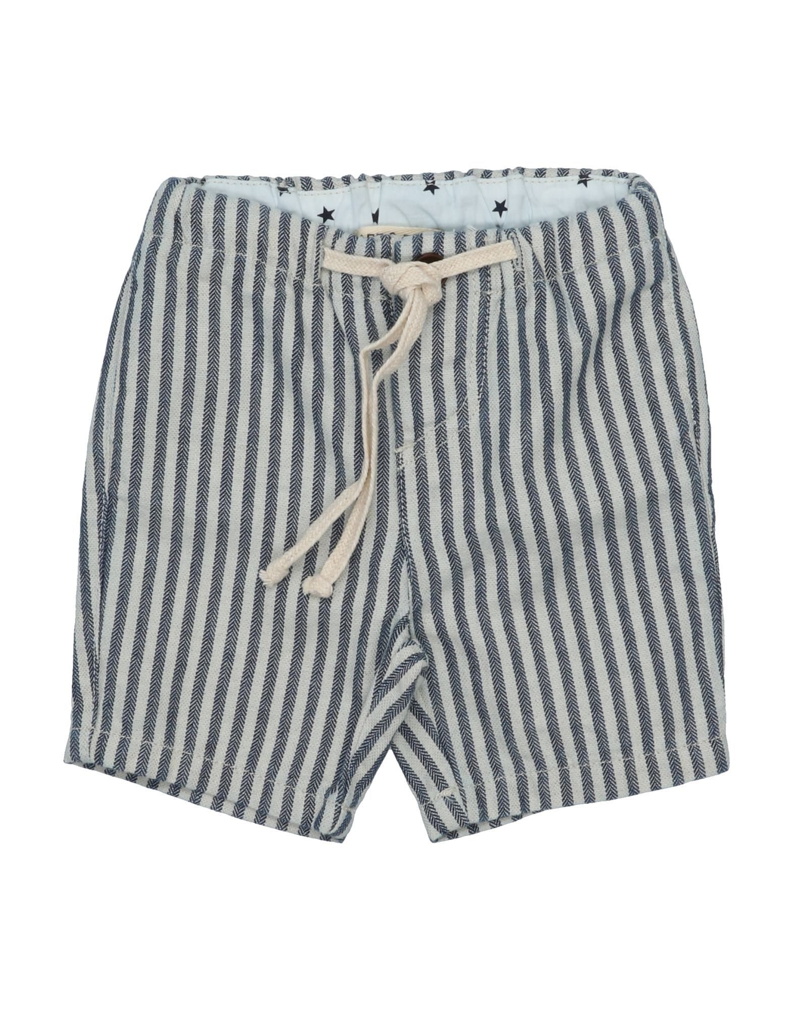 Babe And Tess Kids' Bermudas In Gray