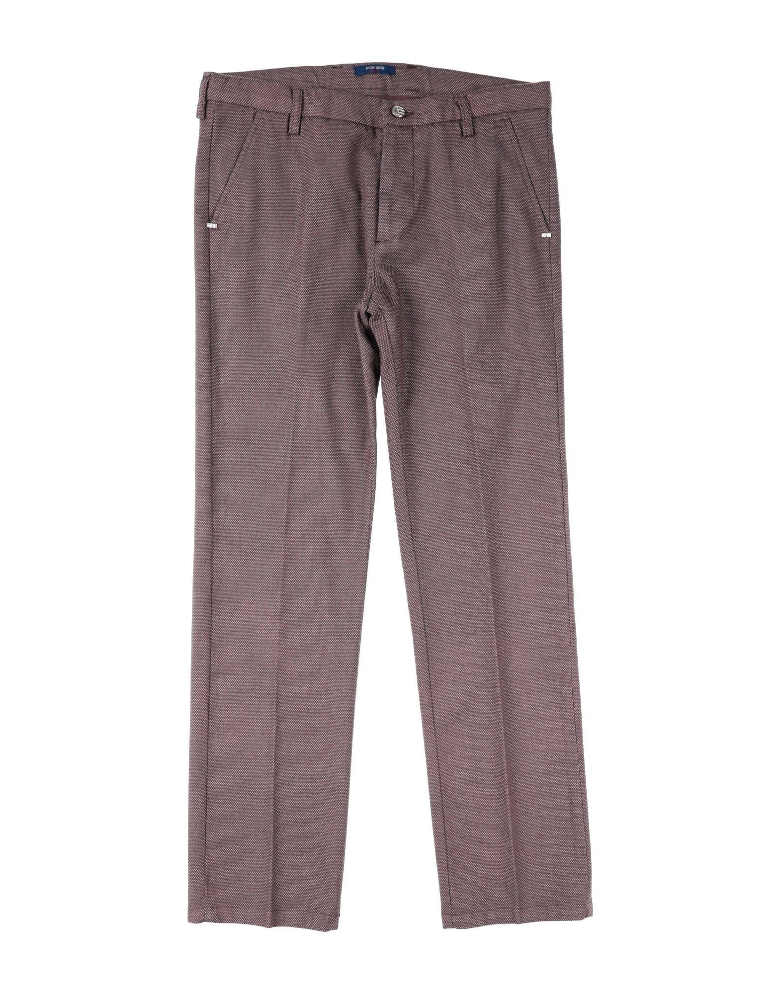 Entre Amis Garçon Kids' Casual Pants In Purple