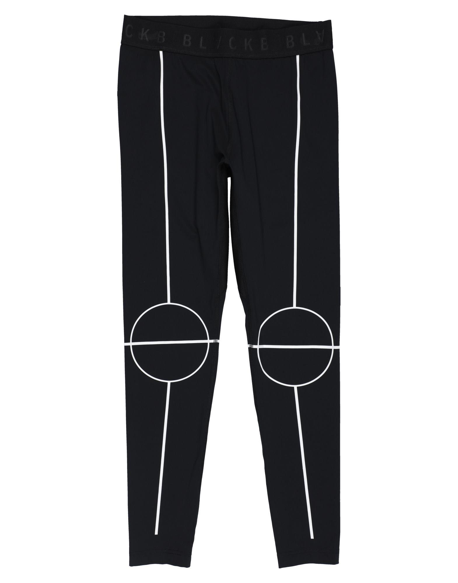 NEIL BARRETT Leggings. jersey, print, logo, two-tone, mid rise, slim fit, tapered leg, elasticized waist, no pockets, stretch. 80% Nylon, 20% Elastane, Polyester