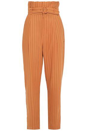 EQUIPMENT Printed crepe tapered pants