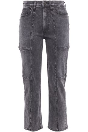 3x1 Junction high-rise kick-flare jeans