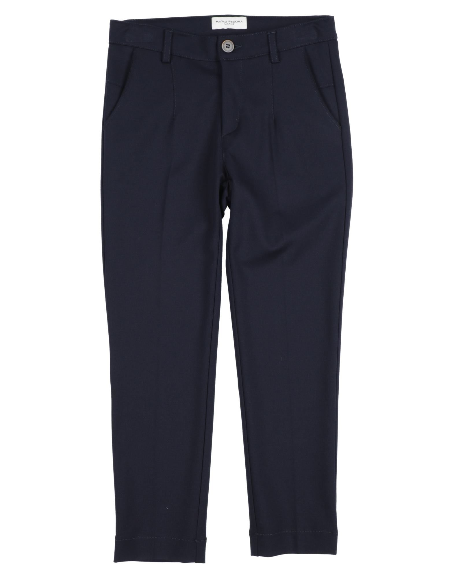 Paolo Pecora Kids' Casual Pants In Blue