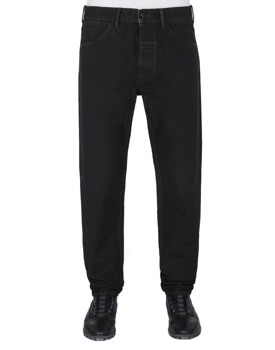 TROUSERS - 5 POCKETS Man J02J1 PANAMA PLACCATO RE-T Front STONE ISLAND