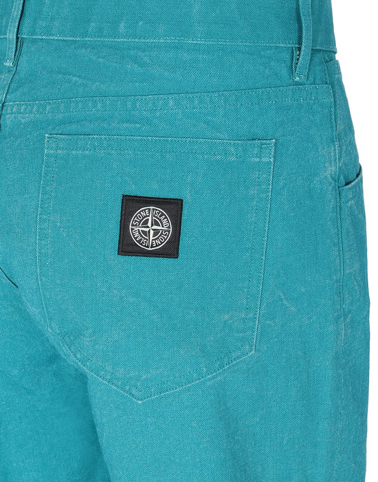 13460342uj - PANTS - 5 POCKETS STONE ISLAND