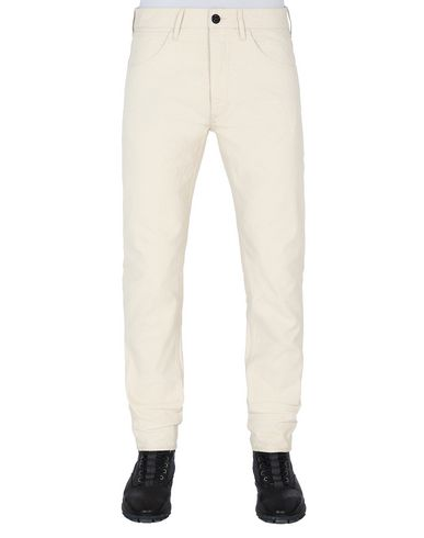 STONE ISLAND J01J1 PANAMA PLACCATO SL PANTALONS - 5 POCHES Homme Beige EUR 220
