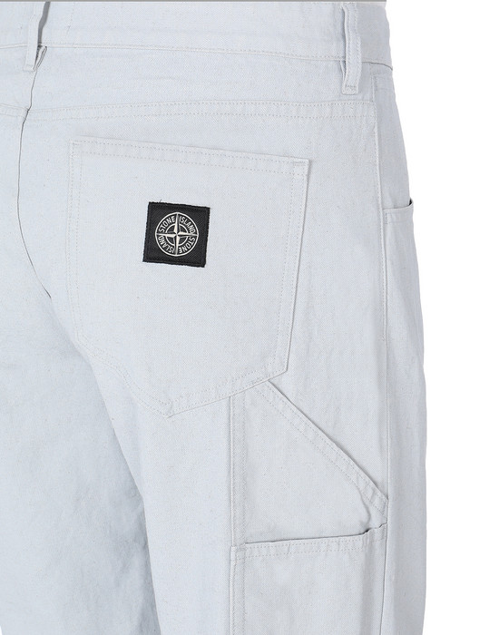 13460443bg - TROUSERS - 5 POCKETS STONE ISLAND