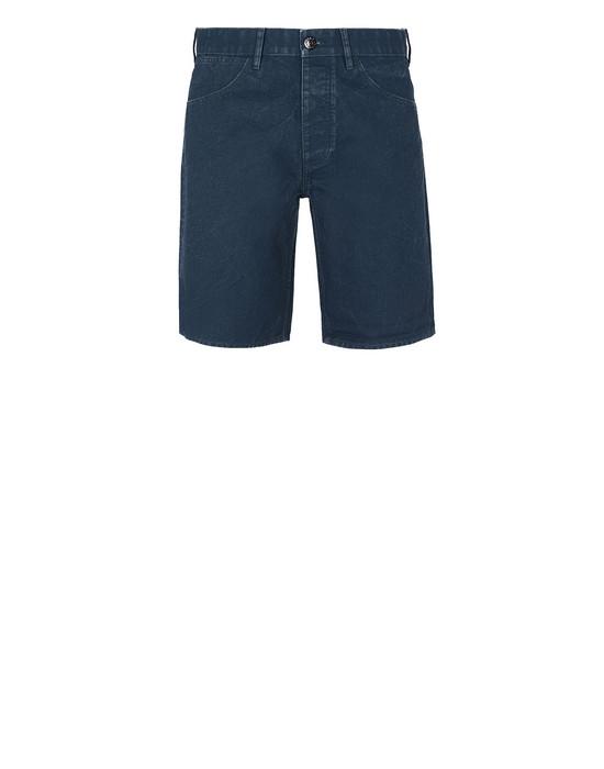 STONE ISLAND L11J1 PANAMA PLACCATO Bermuda shorts Man