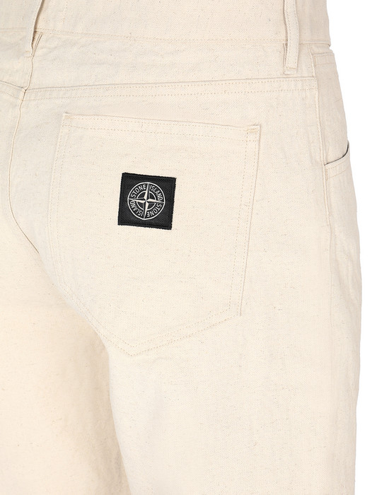 13460451am - PANTS - 5 POCKETS STONE ISLAND