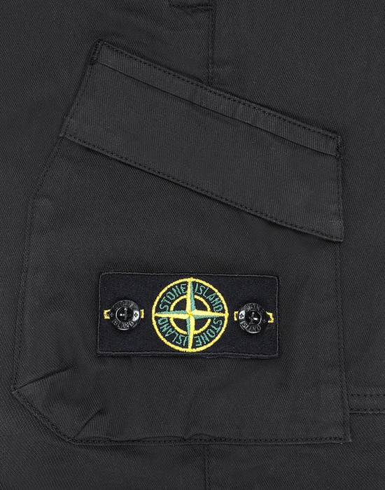 13460652um - PANTS - 5 POCKETS STONE ISLAND JUNIOR