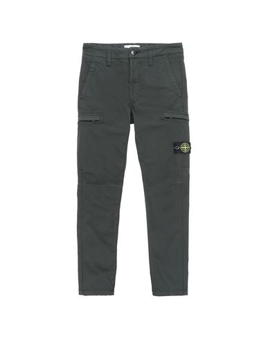 STONE ISLAND JUNIOR Trousers Man 30912  f