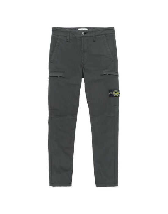 Pants Man 30912  Front STONE ISLAND JUNIOR