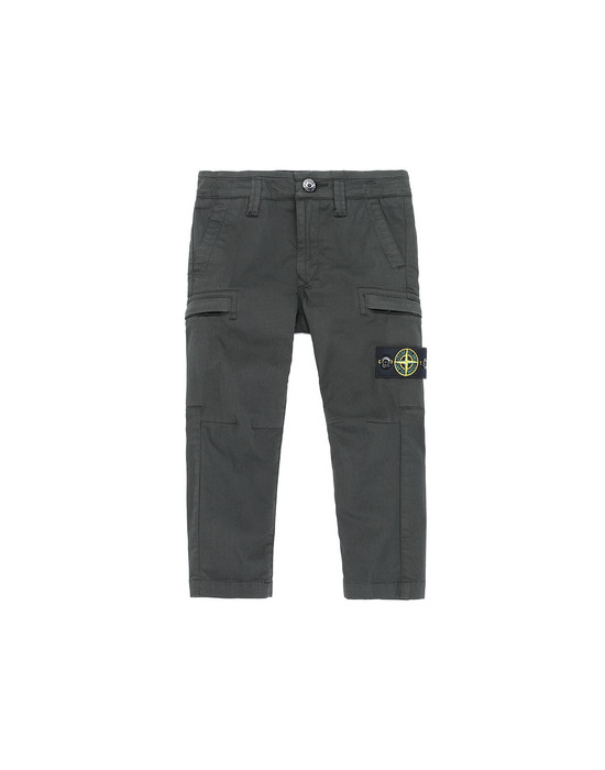STONE ISLAND JUNIOR 30912  Pants Man Bottle Green