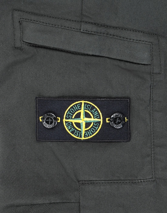 13460713am - TROUSERS - 5 POCKETS STONE ISLAND JUNIOR