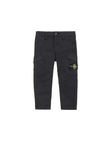 STONE ISLAND BABY 30312   Pants Man Black USD 141