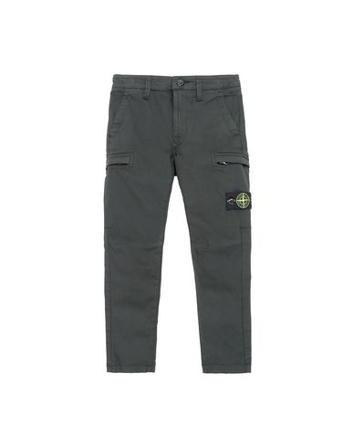 STONE ISLAND KIDS 30912  Pants Man Bottle Green USD 212