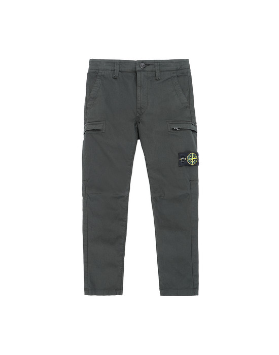 STONE ISLAND KIDS 30912  Trousers Man Bottle Green