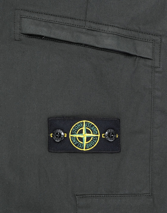 13460734eb - PANTS - 5 POCKETS STONE ISLAND JUNIOR