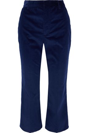 ALTUZARRA Adler stretch-cotton corduroy kick-flare pants