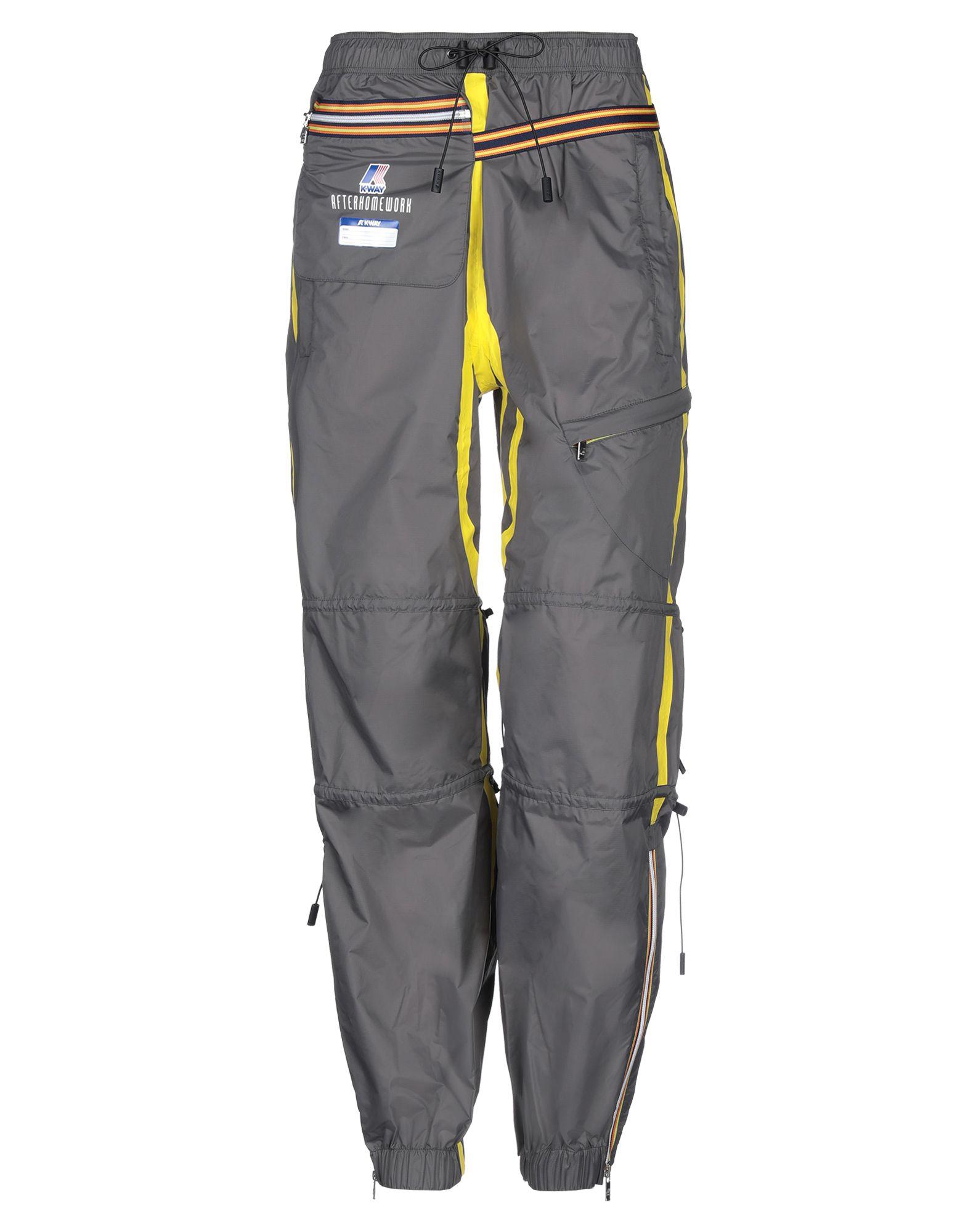 K-WAY x AFTERHOMEWORK Повседневные брюки kappa x k way повседневные брюки